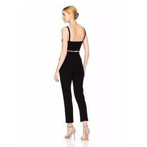 f940f6dc729 Black Halo Pants - NEW Black Halo Black 2 Piece Mayka Jumpsuit Size 2